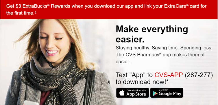 cvs app only savings download app