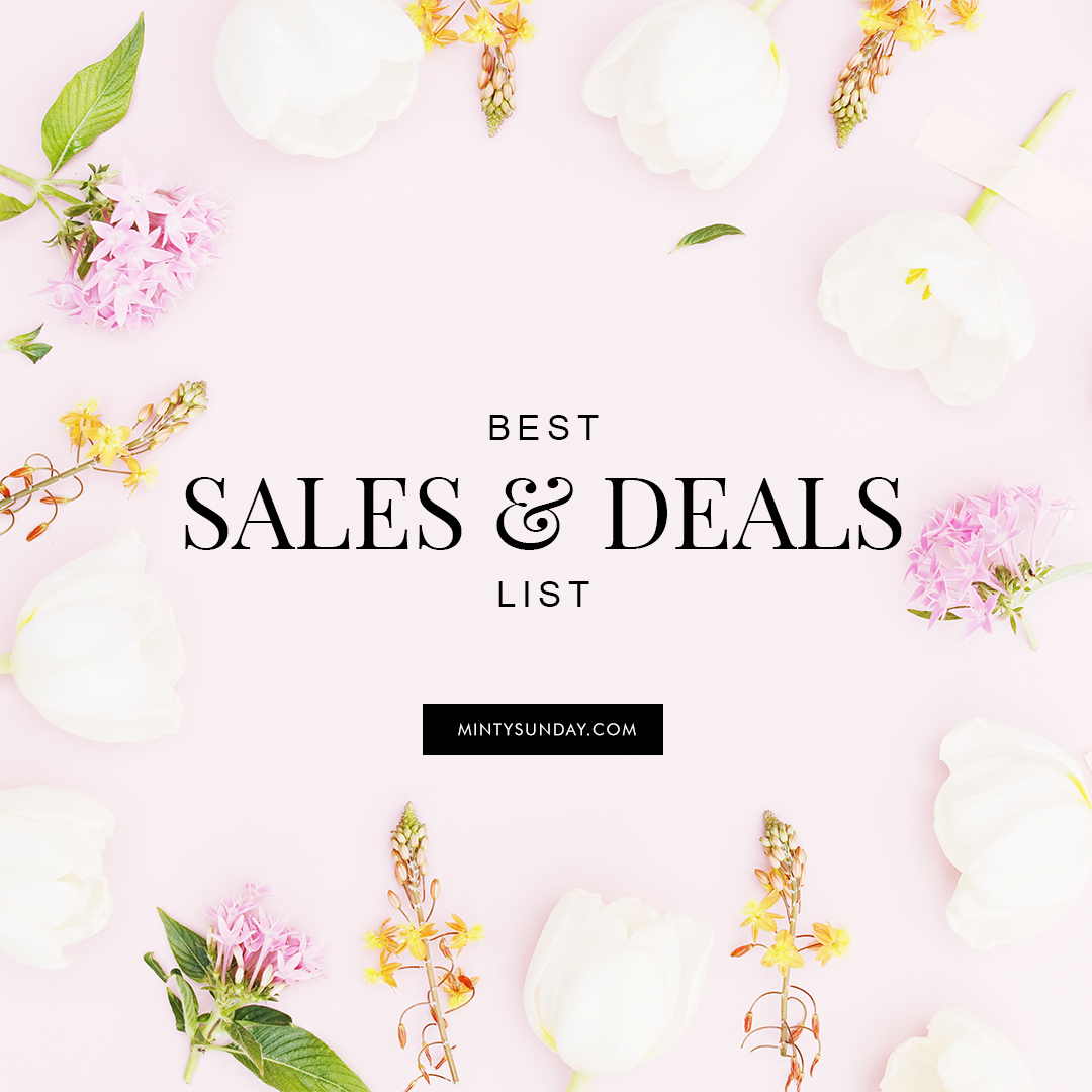 Good shopping deals this weekend