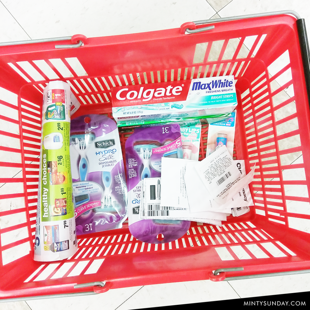 CVS couponing trip week 11/6 - 11/2