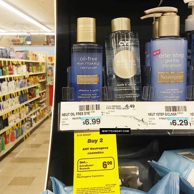 Neutrogena Makeup Remover Only $0.99 Each at CVS - Minty Sunday