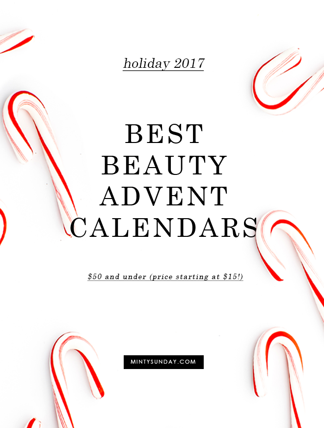 best 2017 beauty advent calendars under 50
