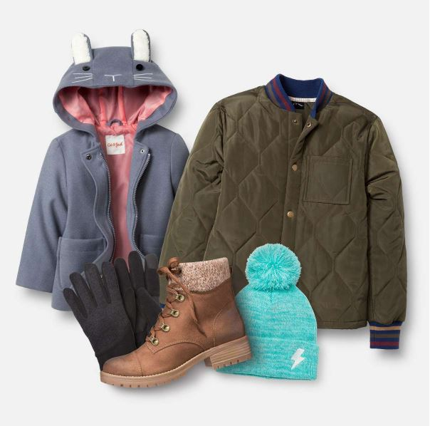 target coats and winter accessories deal