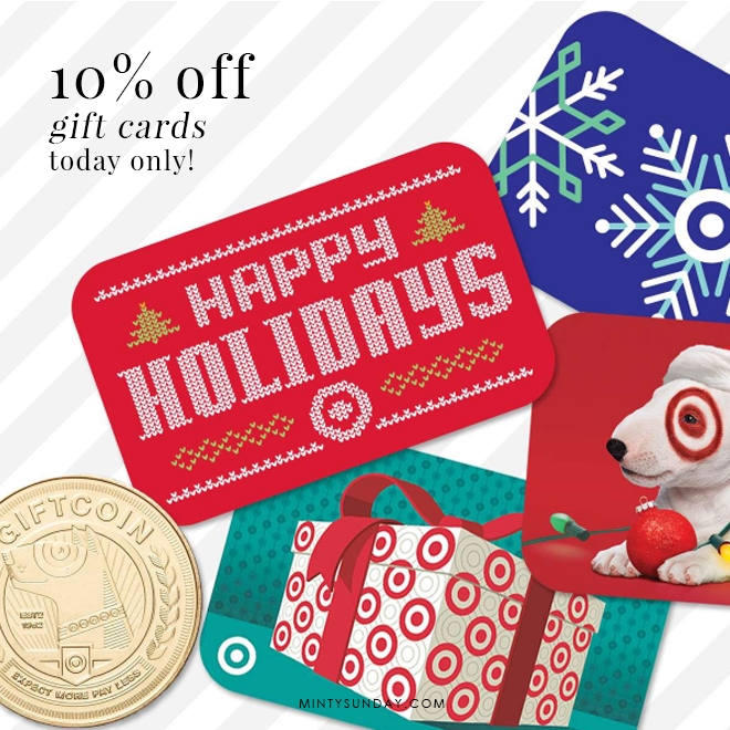 10% off target giftcards discounts