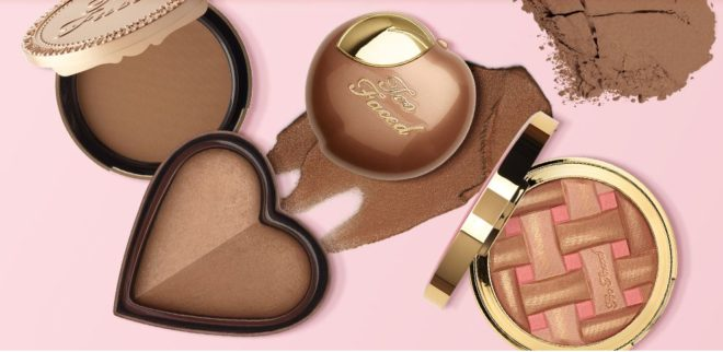 too faced 6 days merry makeup bronzers