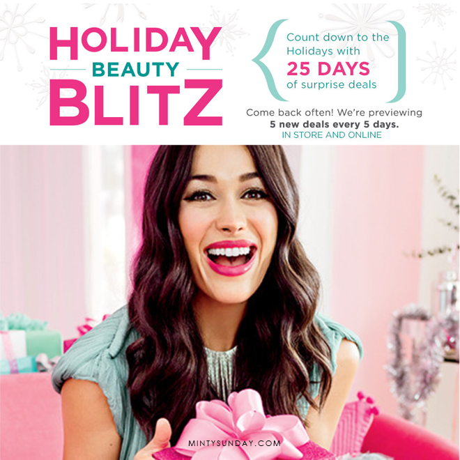 ulta holiday beauty blitz 2017