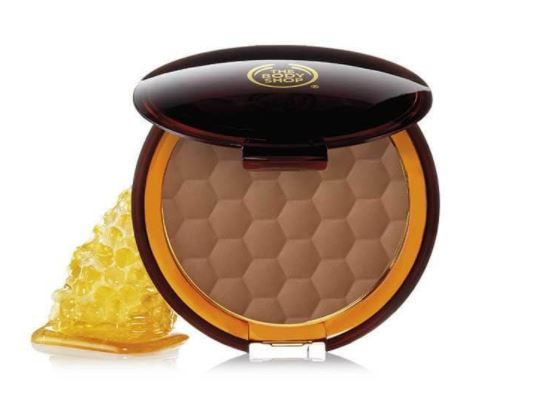 the body shop honey bronzing powder