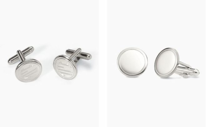 stella and dot engravable cuff links