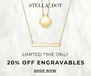 stella and dot engravable jewelry sale