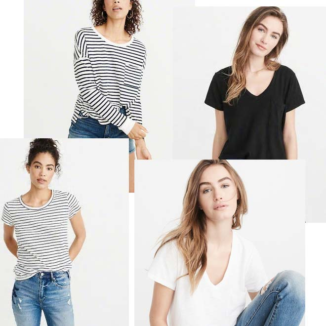 abercrombie and fitch tees sale and deals