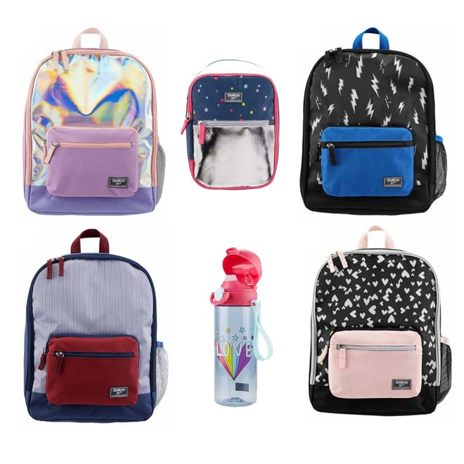 Oshkosh-SkipHop-Backpacks-Lunch-Bags-Water-Bottles