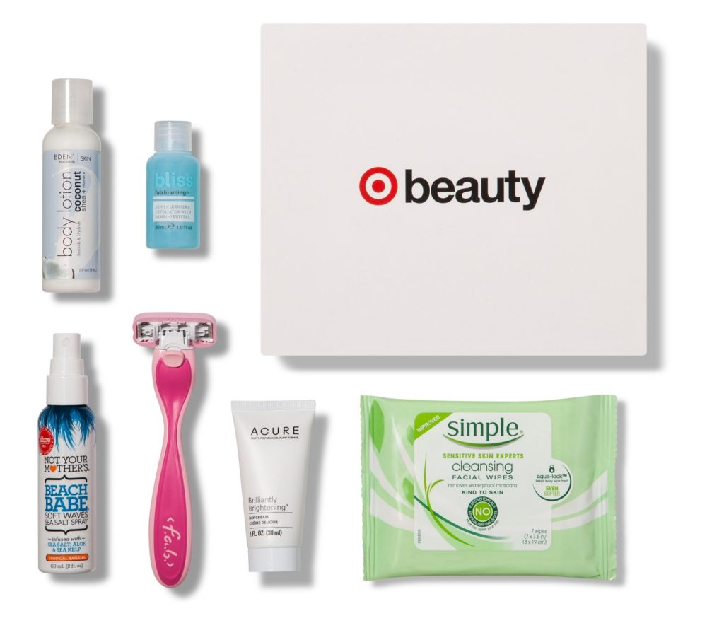 Target Beauty Box August