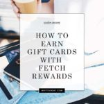 How to earn free gift cards with fetch rewards