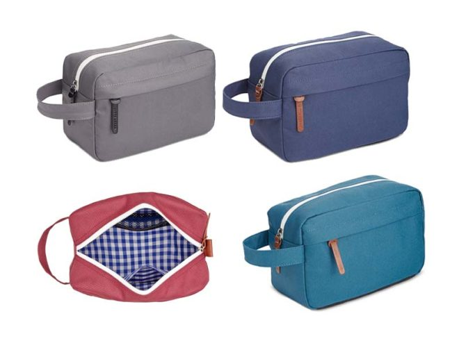 Macy's Perry Ellis Portfolio Men's Gift Square Travel Toiletry Shave Kit