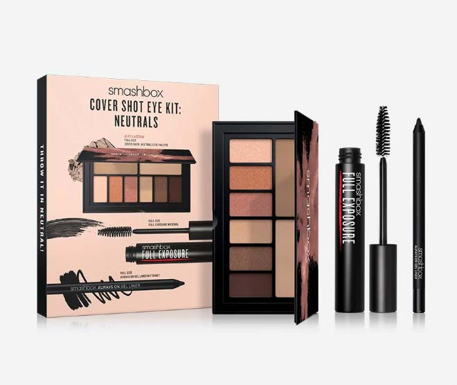 smashbox cover shot neutrals set