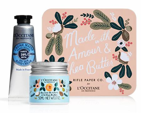 rifle paper co x loccitane
