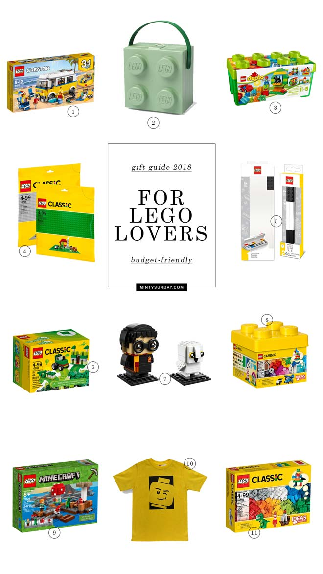 Budget-Friendly Gift Guide 2018 Lego Lovers