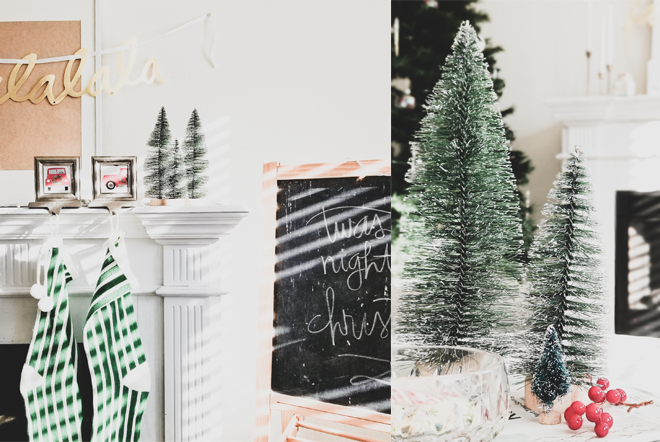 How I Simplified Holiday Decor 2018