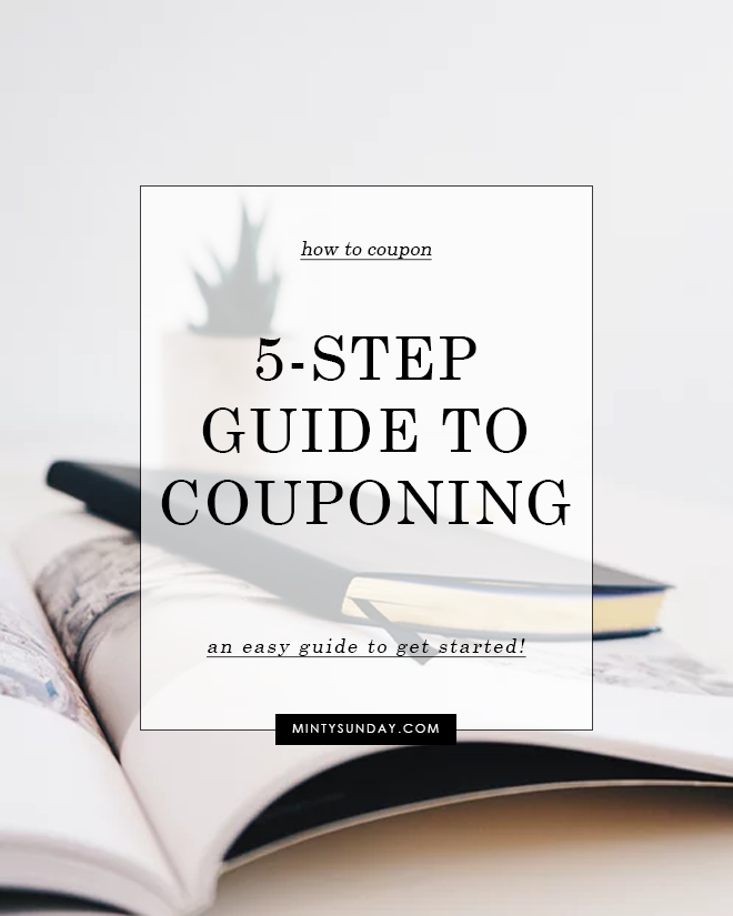 How to Coupon: A 5-Step Quick Guide
