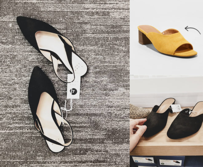 Target Fave Finds This Week Mules