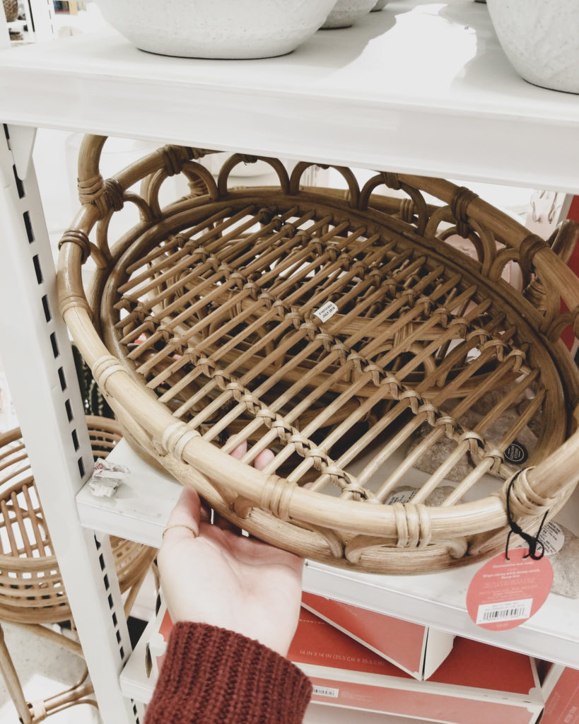 Target Fave Finds This Week Opal House Rattan Tray