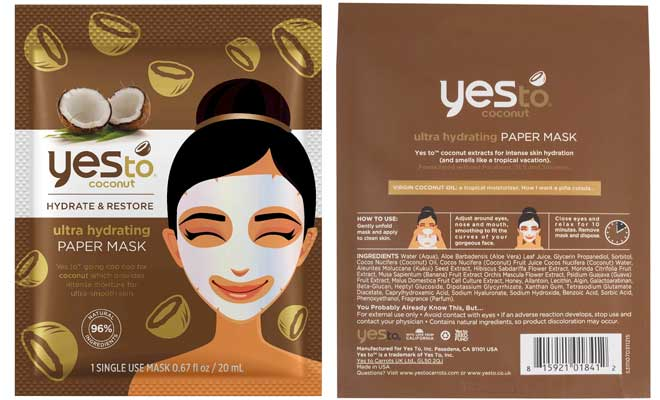 Yes-to-Coconut-Ultra-Hydrating-Paper-Mask-Review-Old-Packaging