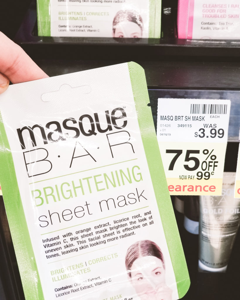 CVS clearance finds Masque Bar Masks