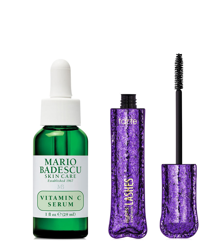 macys 10 days of glam mario badescu and tarte