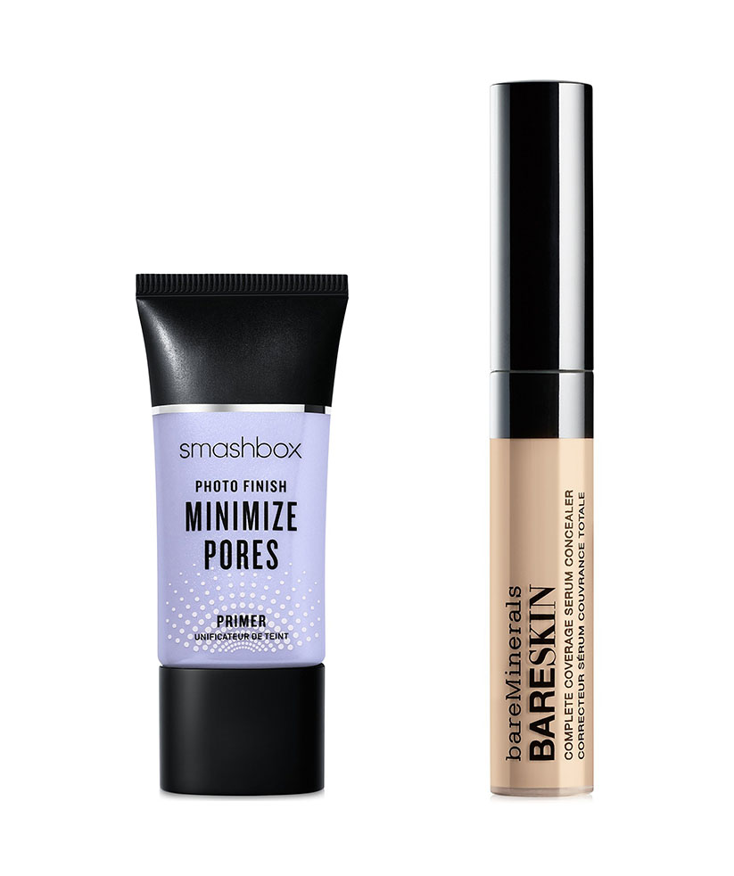 macys 10 days of glam smashbox and bare minerals