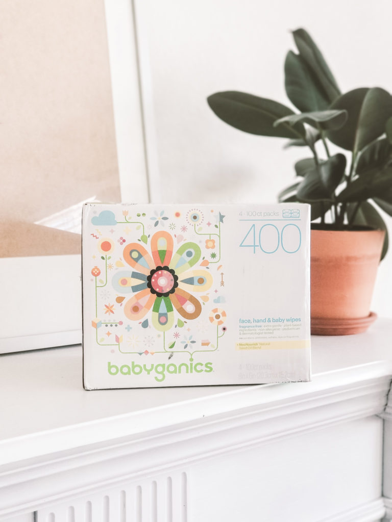 babyganics baby wipes deal at Amazon