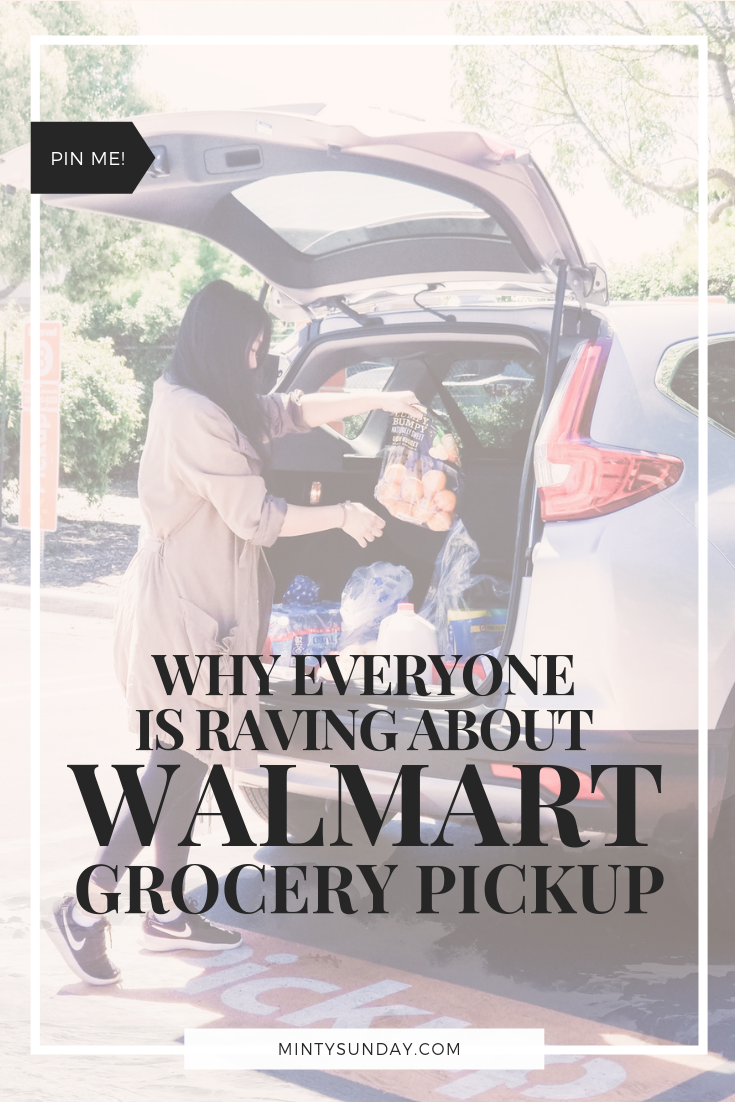 Walmart Grocery Pickup Review Pin Image