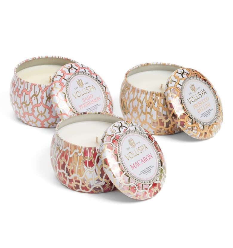 nordstrom anniversary sale guide voluspa mini tin candle set