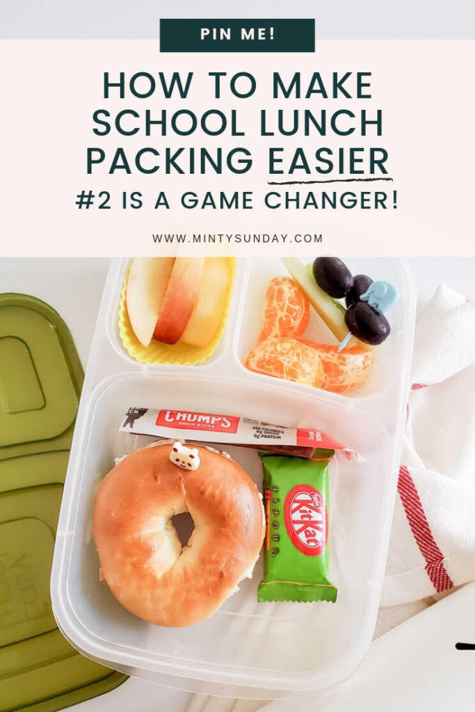 school lunch packing tips