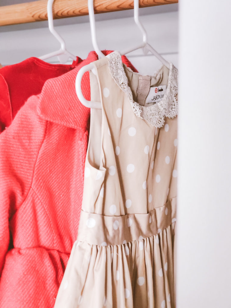 declutter and organize kids closet and make extra cash sell clothes online