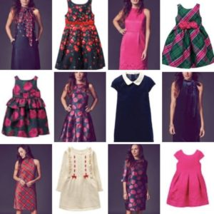 Janie and Jack Mommy and Me Dreses Holiday Collection
