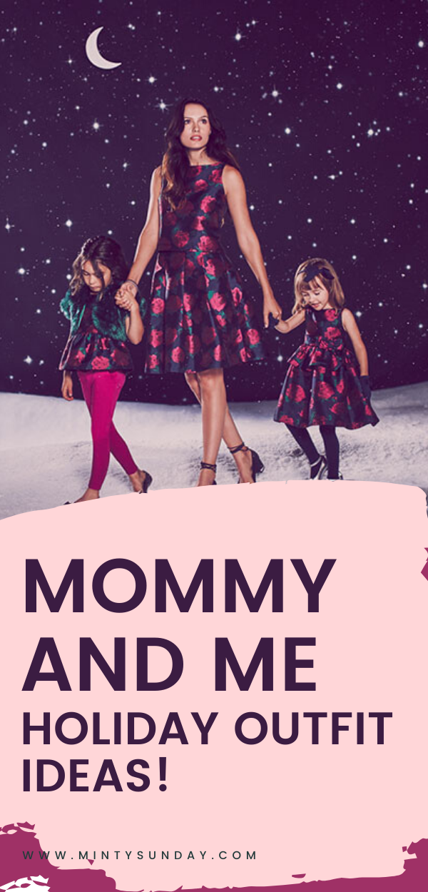 Janie and Jack Mommy and Me Holiday Outfit Ideas
