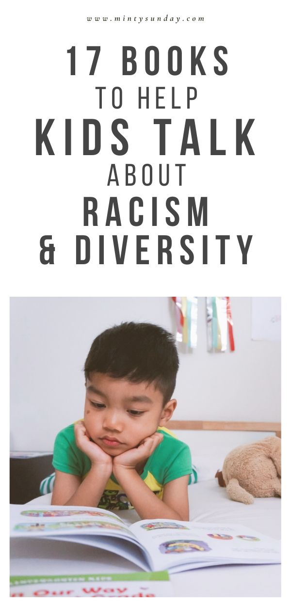 childrens books to help kids talk about racism and diversity